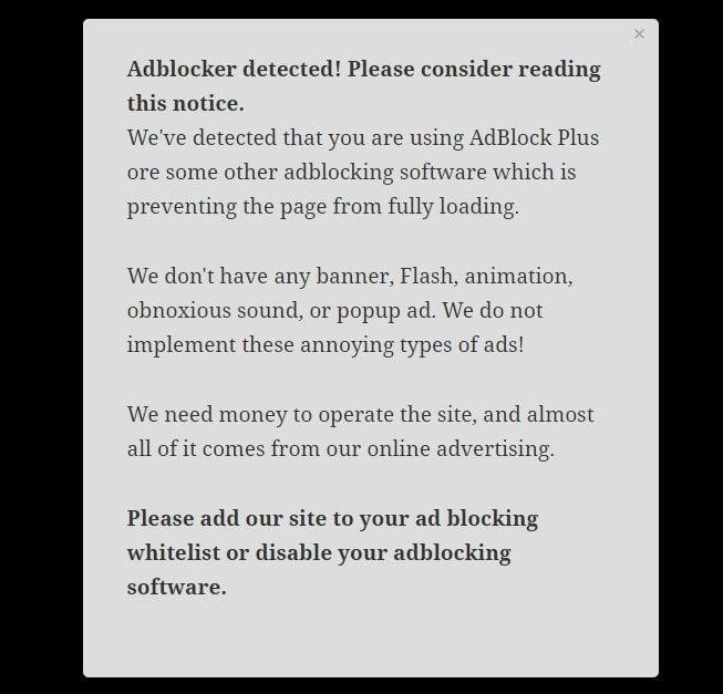 5 best anti adblock wordpress plugins