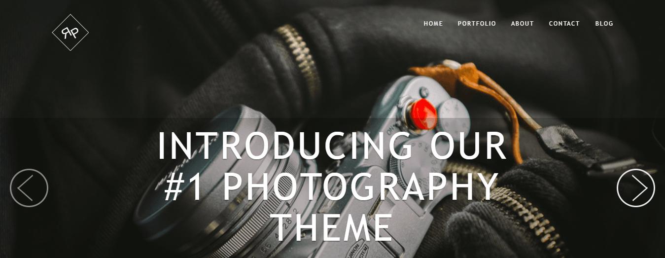 RokoPhoto, one of ThemeIsle's Premium WordPress Themes