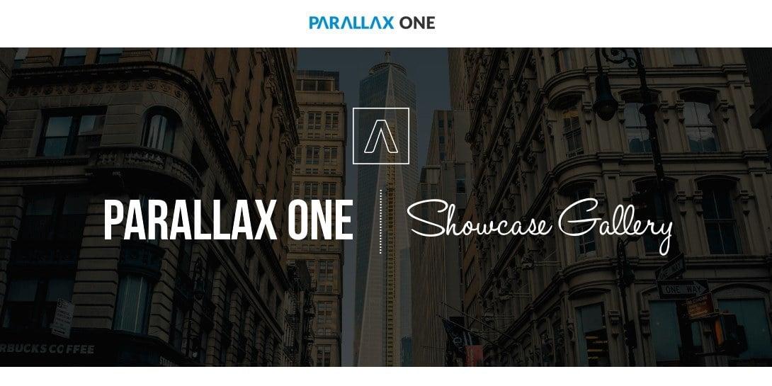 Parallax One Showcase Gallery