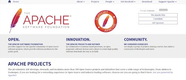 Apache Home Page