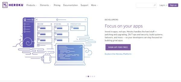 Heroku Home Page