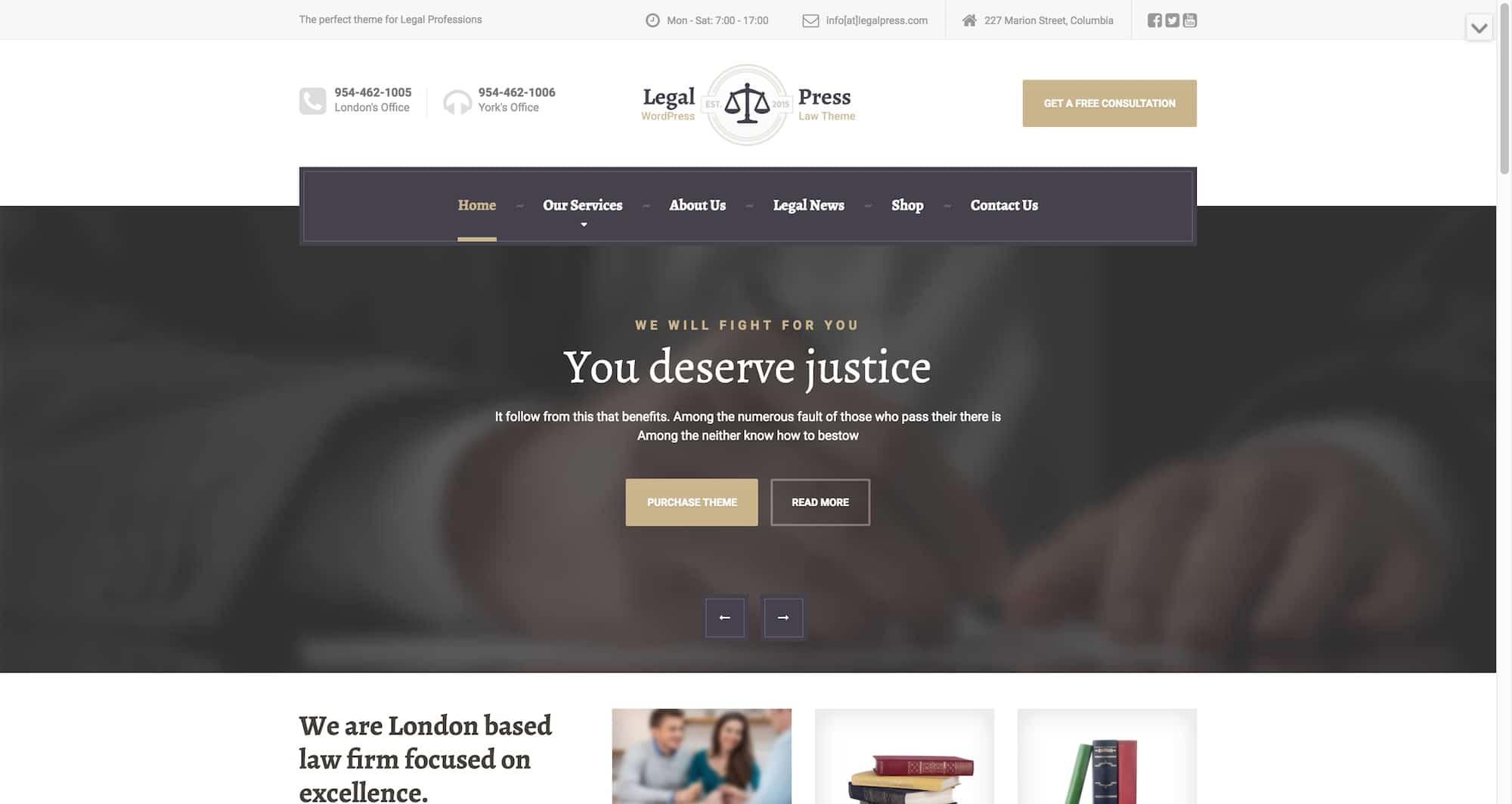 LegalPress theme now part of the new ThemeIsle membership plans