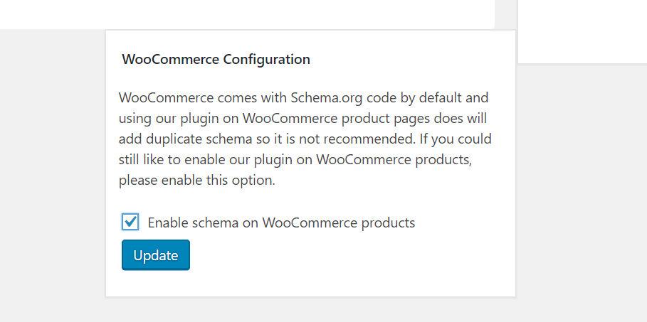 woocommerce configuration