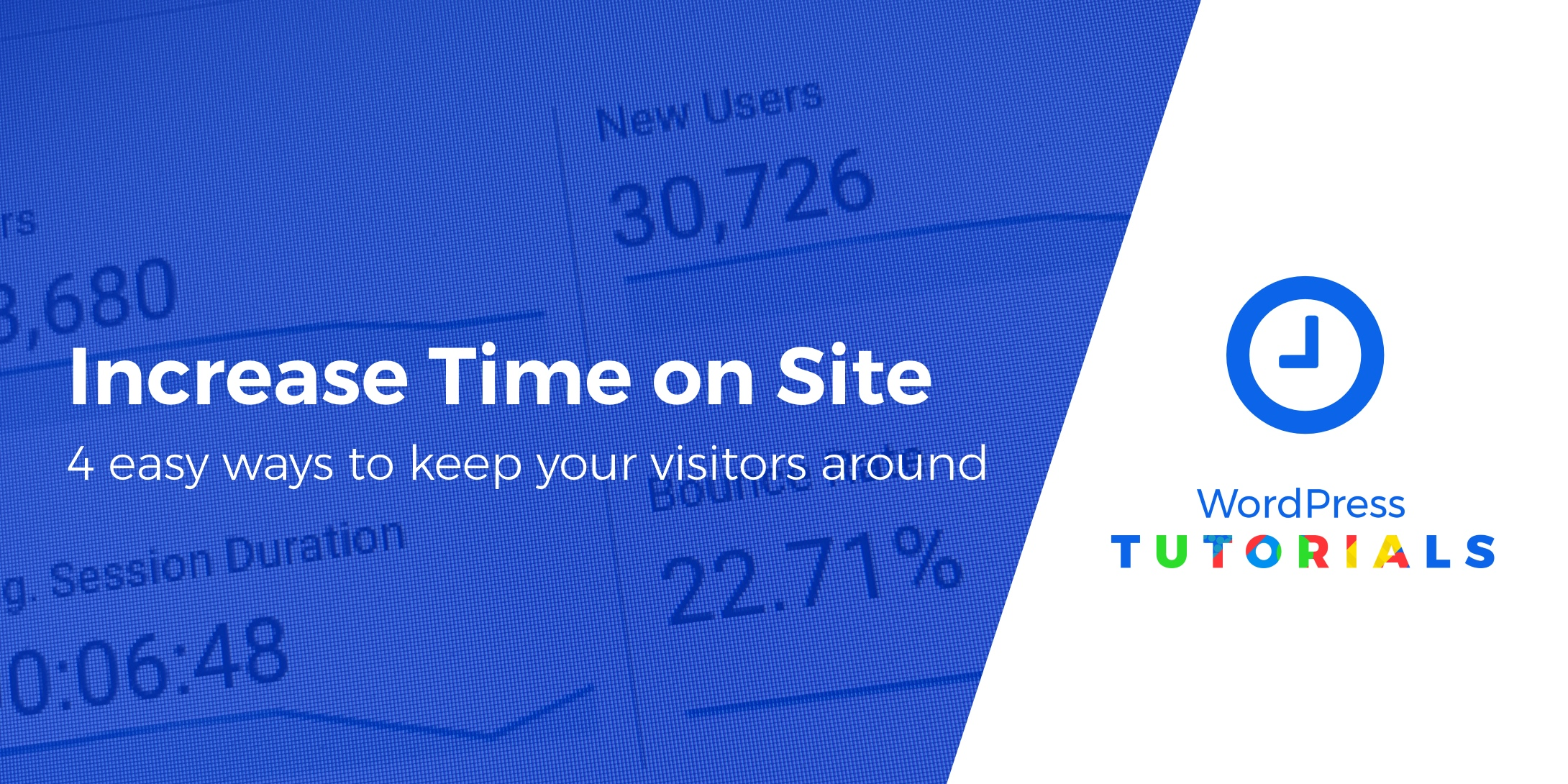 increase time on site