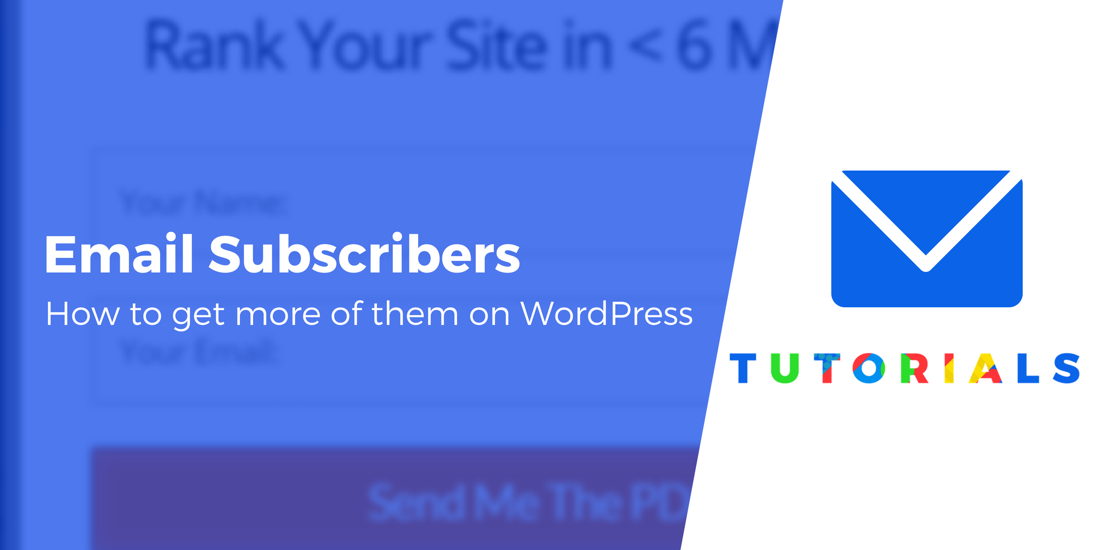 WordPress email subscribers