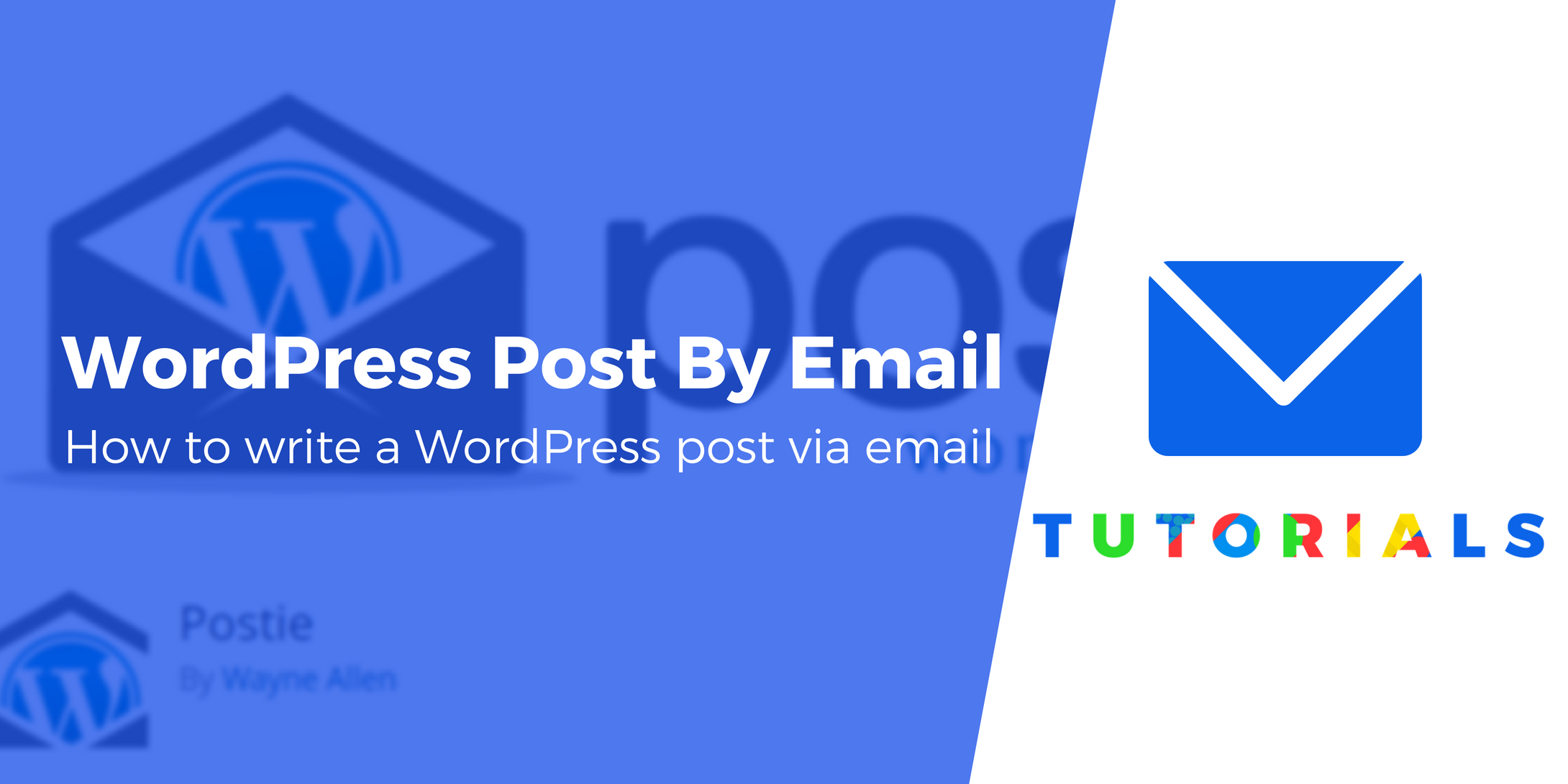 wordpress post by email