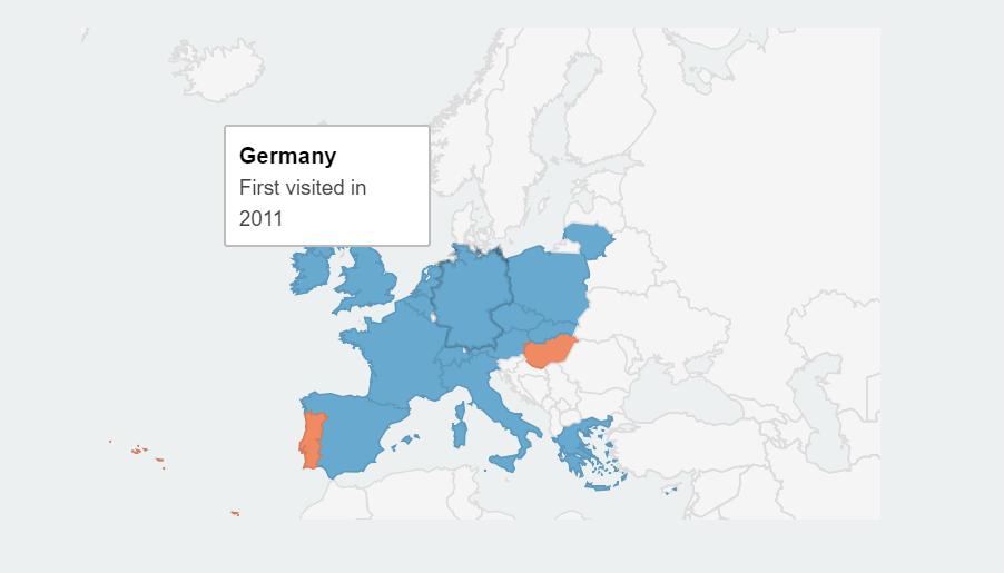 interactive travel maps
