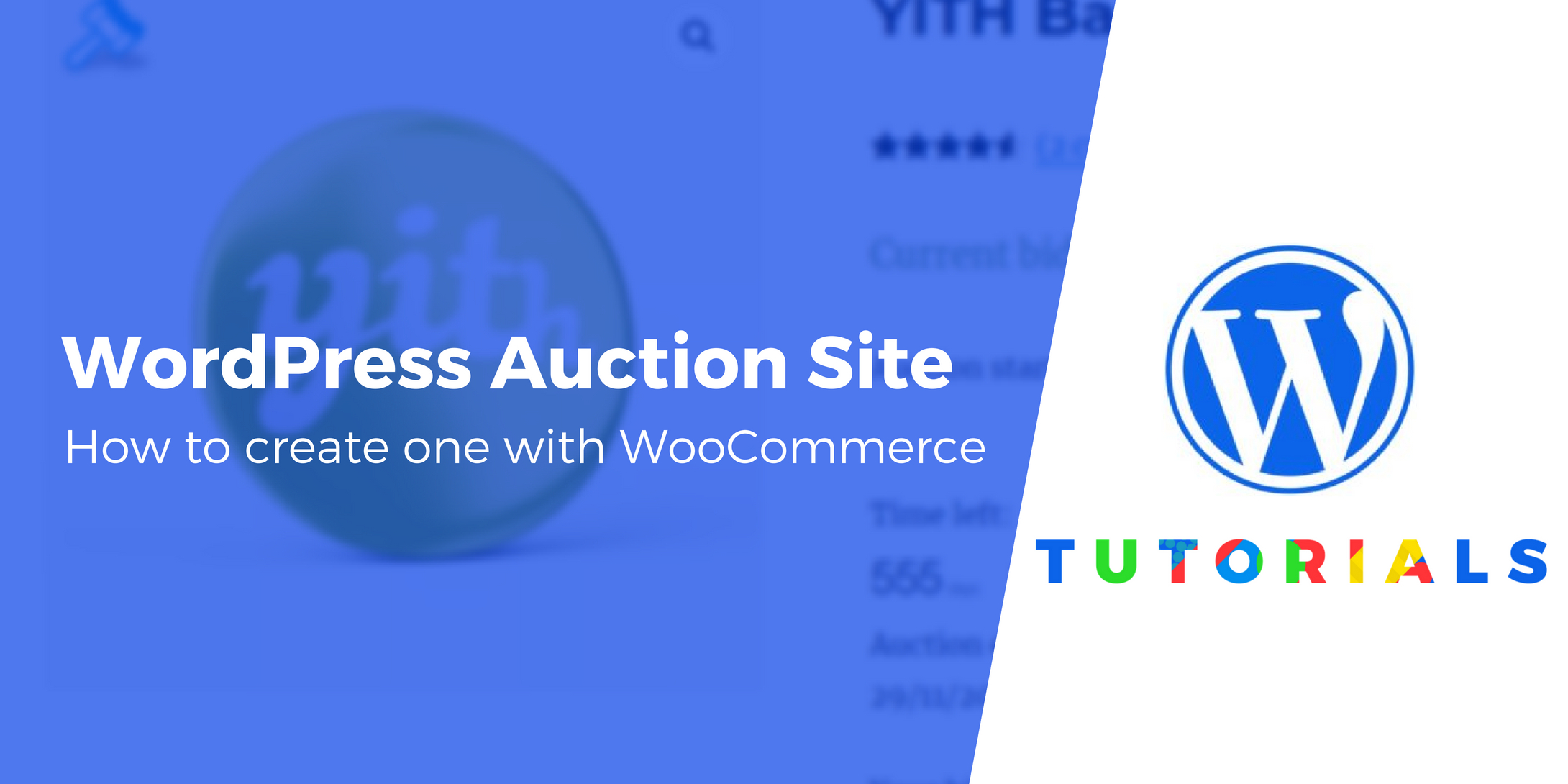 how to build your own wordpress auction site with woocommerce