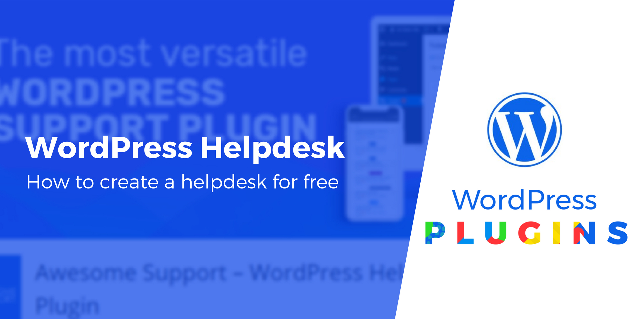 WordPress helpdesk