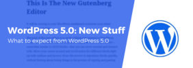 What's New in WordPress 5.0, Plus What to Expect From the Gutenberg Editor