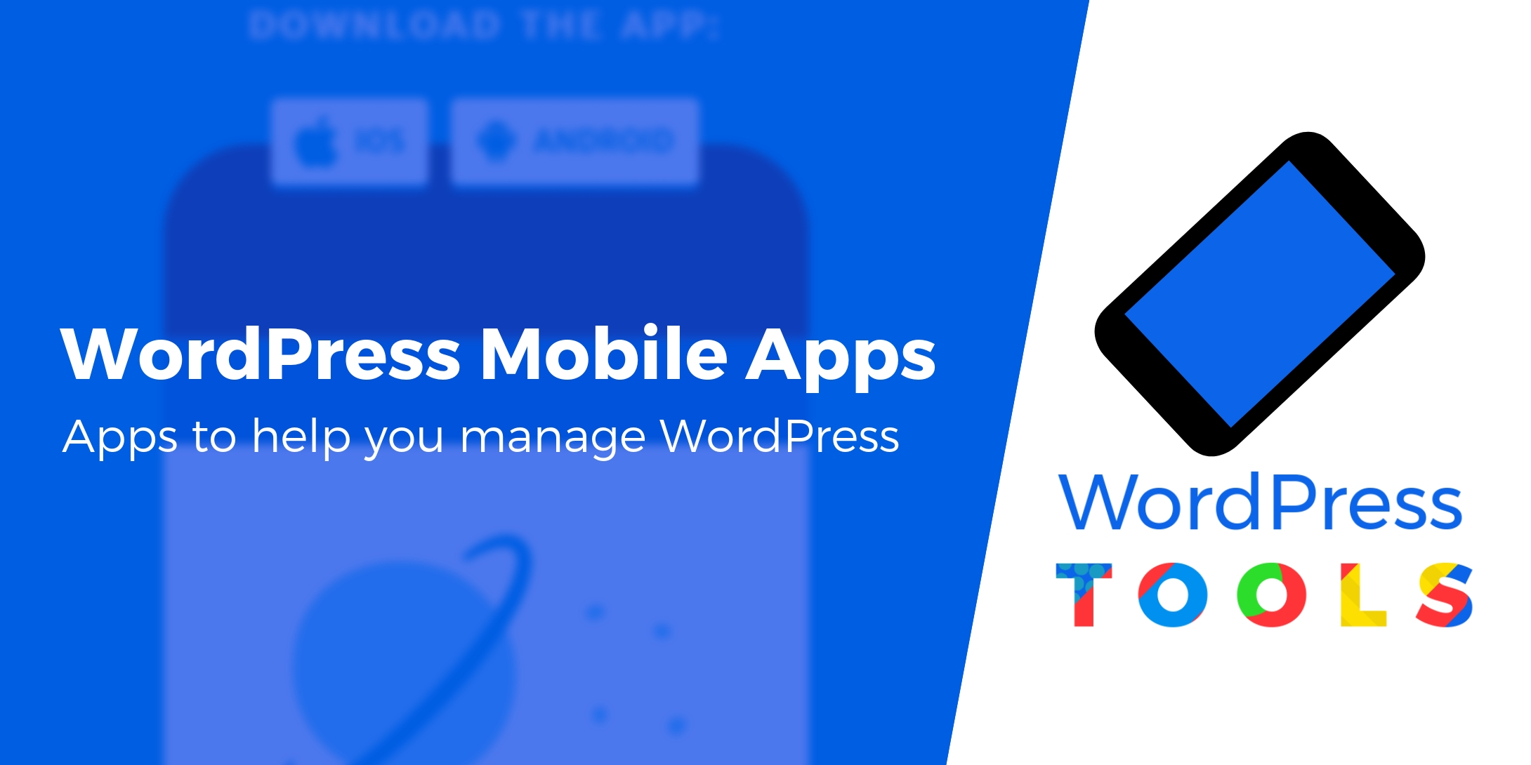 mobile apps to manage WordPress